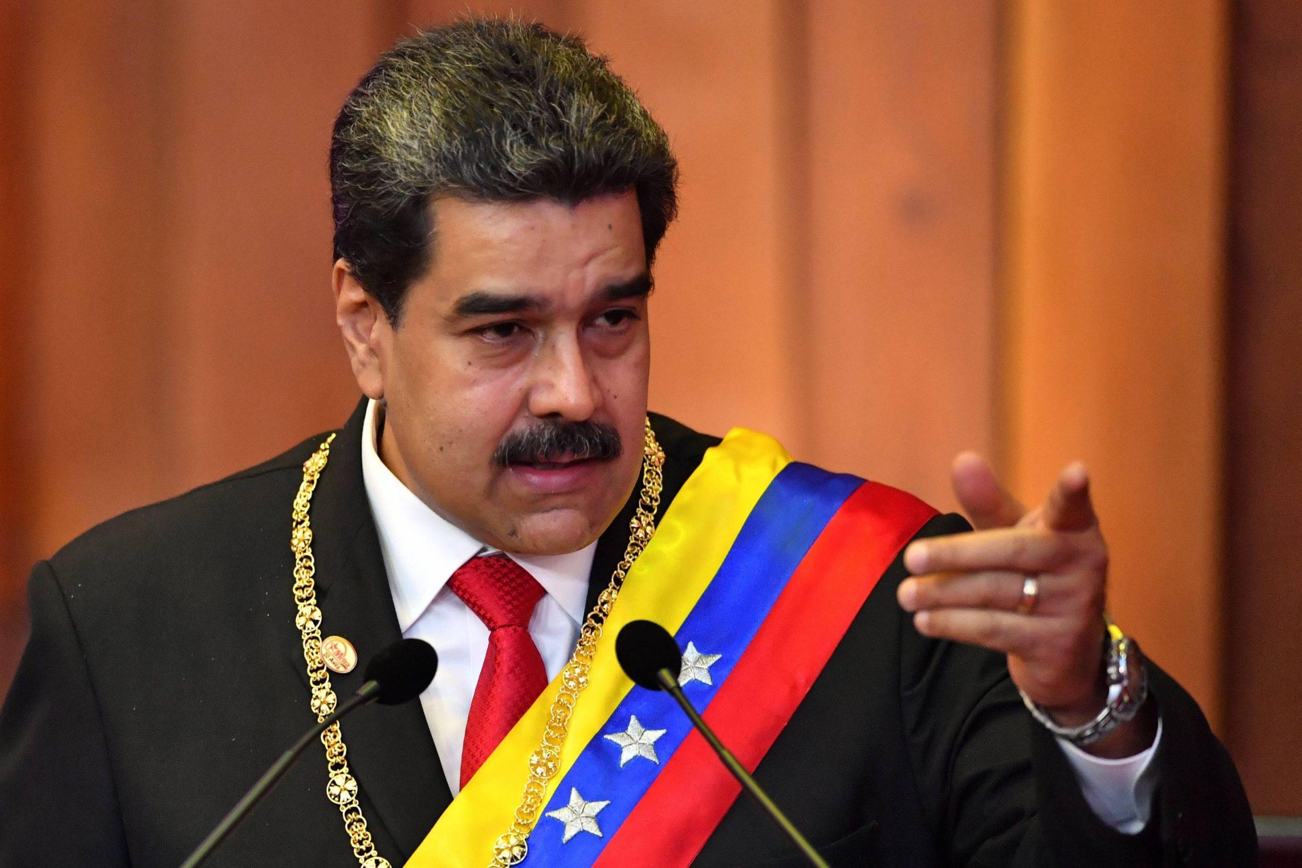 Nicolas Maduro scaled