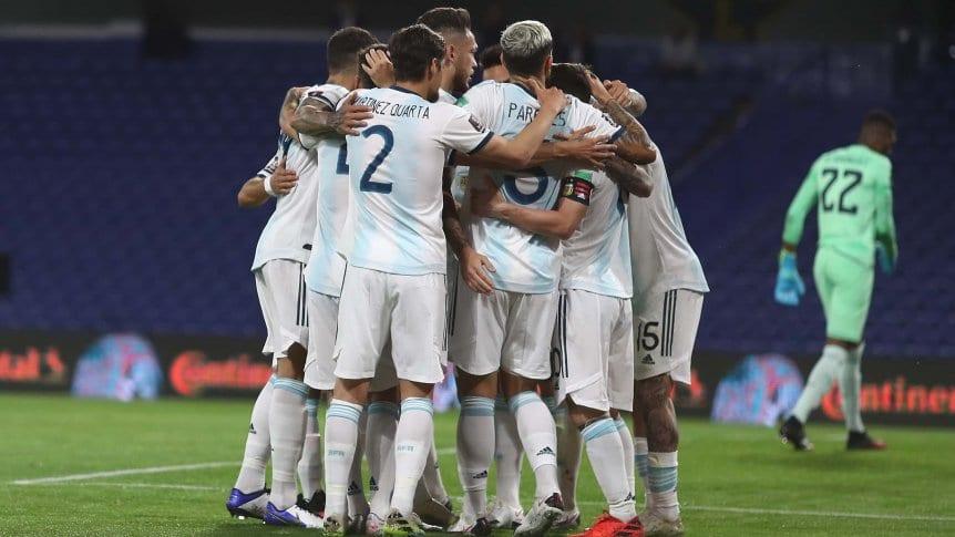 argentina festejo grupal