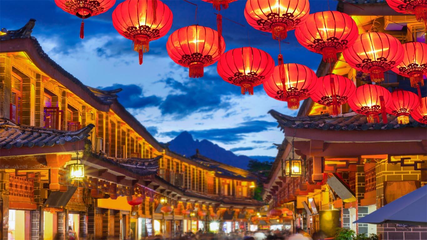 china transformada 45563