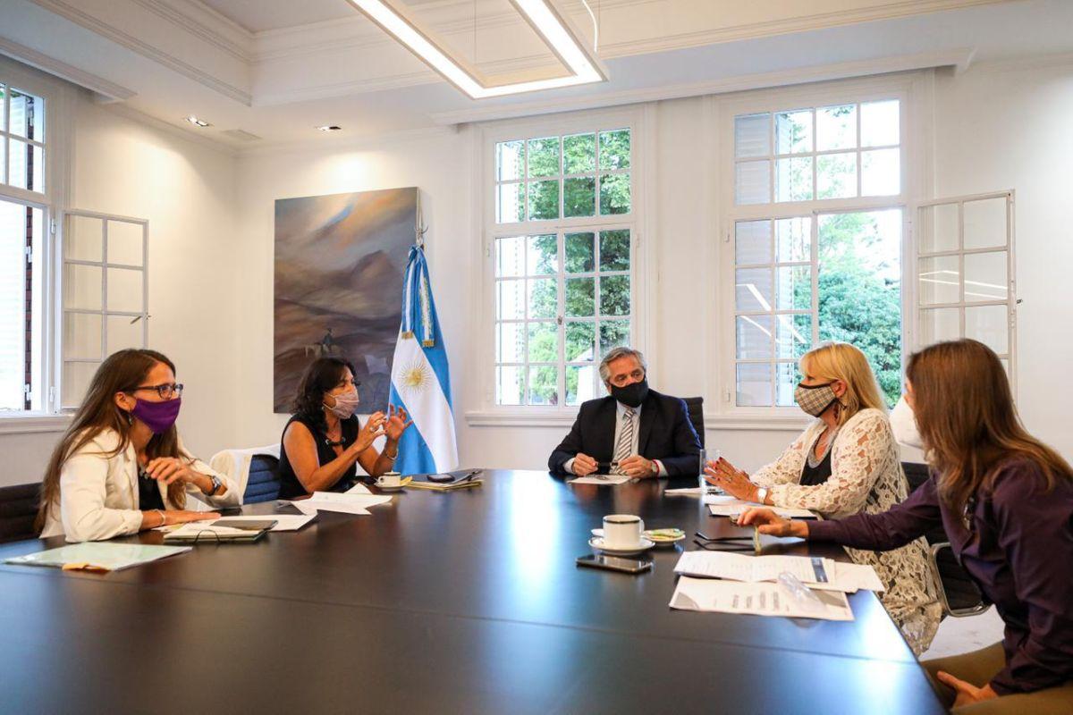 Alberto Fernandez Vilma Ibarra Gomez Alcorta Consejo Violencia de genero