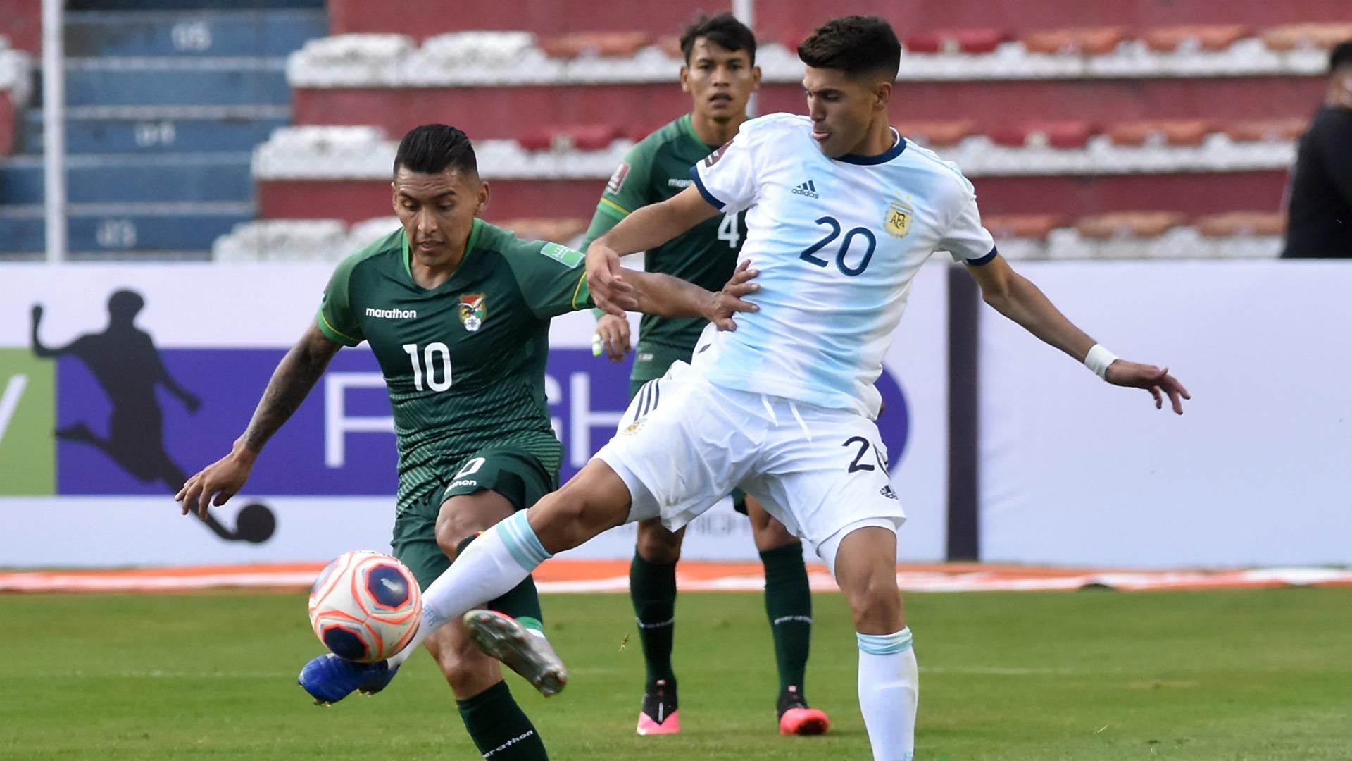 exequiel palacios bolivia argentina eliminatorias